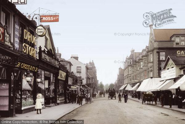 Redhill, High Street 1906