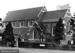Redhill, Holy Trinity Church c.1965