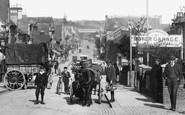Redhill, Horse Drawn Traffic In Brighton Road 1906