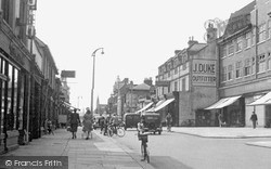 Redhill, London Road c.1955