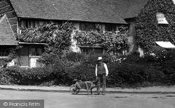 Redhill, Man And Wheelbarrow 1906