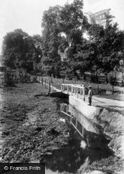 Redhill, St Anne's Walk 1909