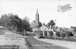 Redhill, St John's Church c.1960