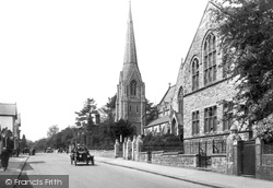 Redhill, St Matthew's Church And School 1919