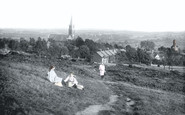 Redhill, View From Redhill Common 1916