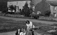 Redmire, Children in the Village 1929
