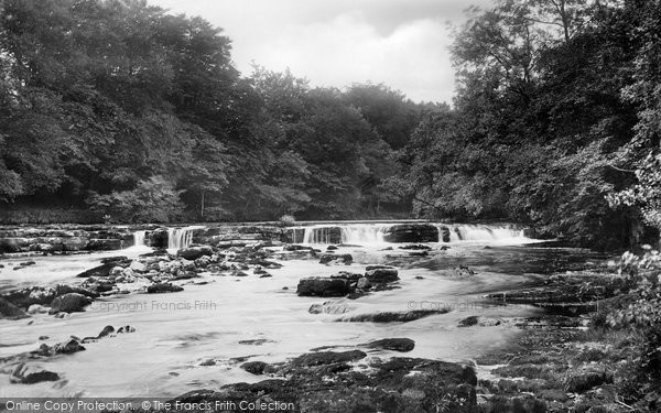 Photo of Redmire, Falls On River Ure 1909