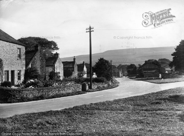 Photo of Redmire, Village 1929