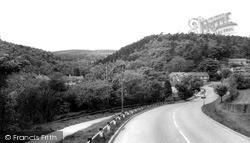 Rednal, View Of Lickey Hills c.1965