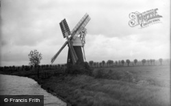 Reedham, Broads Mill c.1931
