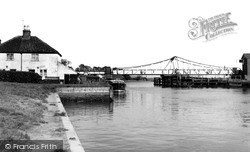 Reedham, The Bridge c.1955