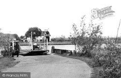 Reedham, The Ferry c.1955