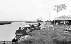 Reedham, The Moorings c.1955