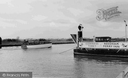 Reedham, The River Yare c.1955