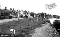 Reedham, The Waterfront c.1955