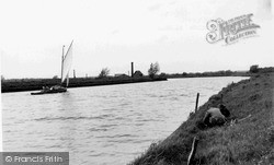 Reedham, View From Buckenham c.1955