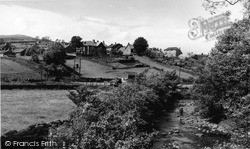 Reeth, Arkle From The Bridge c.1960