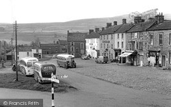 Reeth, The High Row c.1955