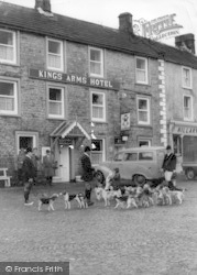 Reeth, The Hunt At The Kings Arms Hotel c.1965