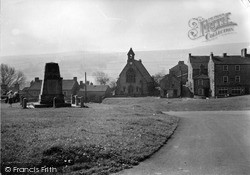 Reeth, The Memorial c.1950