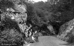Reigate, A Stroll In Park Lane 1907