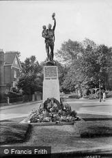 Reigate, and Redhill War Memorial 1924