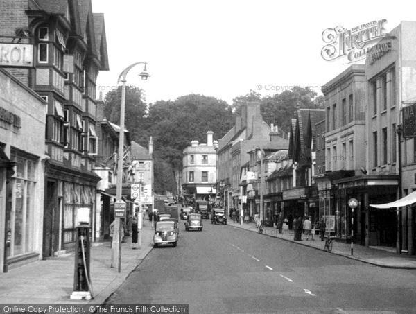 Photo of Reigate, Bell Street c1955