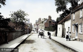 Reigate, Church Street 1909