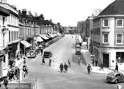 Reigate, Church Street c.1955