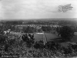 Reigate, From The Park, South Park 1926