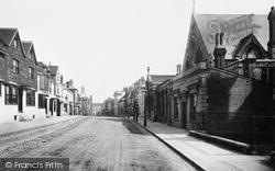 Reigate, High Street 1886