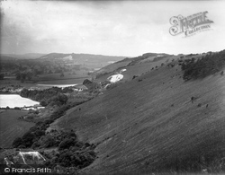 Reigate, Hill, View Of North Downs 1926