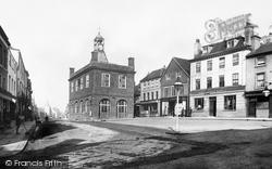 Reigate, Market Place 1886