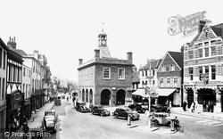 Reigate, Market Square 1936