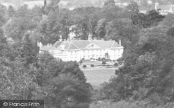 Reigate, Priory From The Park 1896