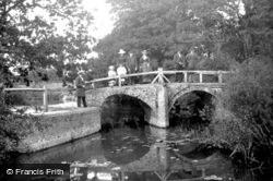 Reigate, Ricebridge On The Mole 1886