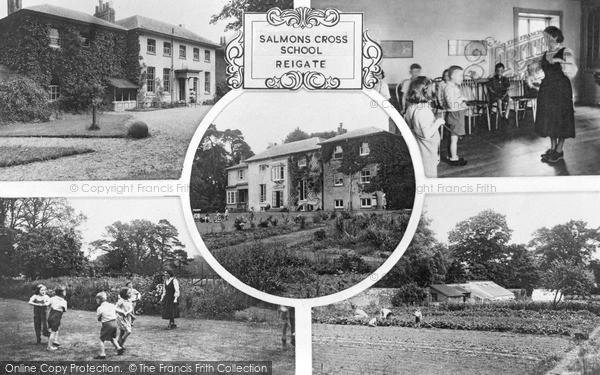 Reigate, Salmons Cross School c.1955