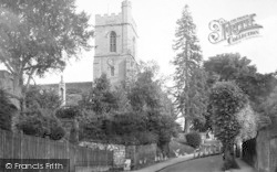 Reigate, St Mary's Church, Chart Lane c.1920