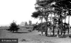 Reigate, The Heath And New Golf House 1896