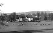 Reigate, the Priory Park c1955