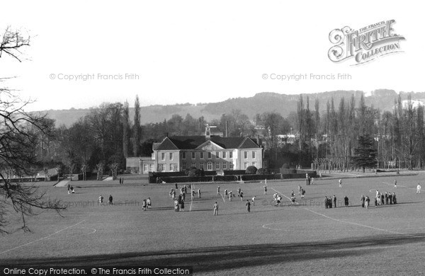 Photo of Reigate, the Priory Park c1955