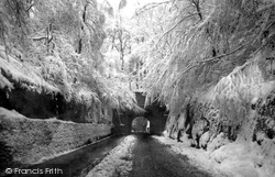 Reigate, The Tunnel In Snow 1890