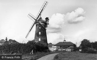 Reigate, the Windmill, Wray Common c1955