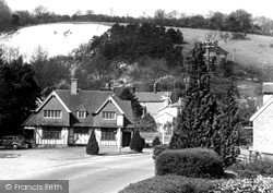 Reigate, The Yew Tree And Reigate Hill c.1955