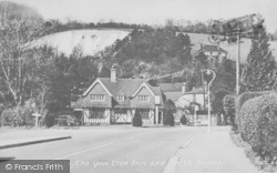 Reigate, The Yew Tree Inn And North Downs c.1955