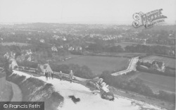 Reigate, View From Pilgrim's Way 1915
