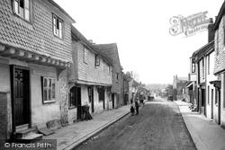 Reigate, West Street 1886