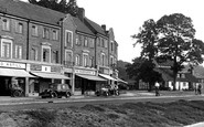 Reigate, Western Parade and The Angel c1955
