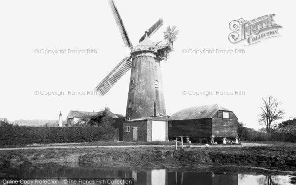 Redhill,Windmill 1893,Surrey