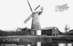 Reigate, Wray Common, Windmill 1893